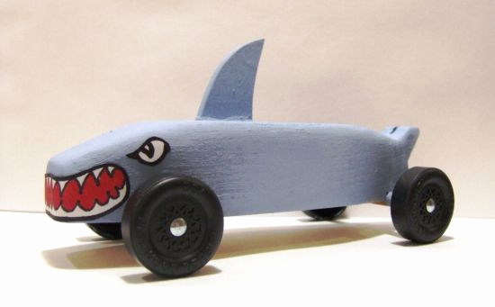 Shark Pinewood Derby Car Awesome 40 Best Pinewood Derby Images On Pinterest
