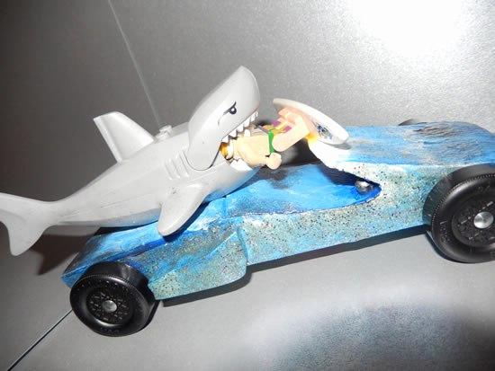 Shark Pinewood Derby Car Beautiful Shark – Boys Life Magazine