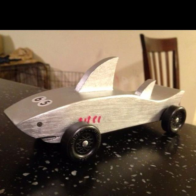 Shark Pinewood Derby Car Lovely Pinewood Derby On Pinterest