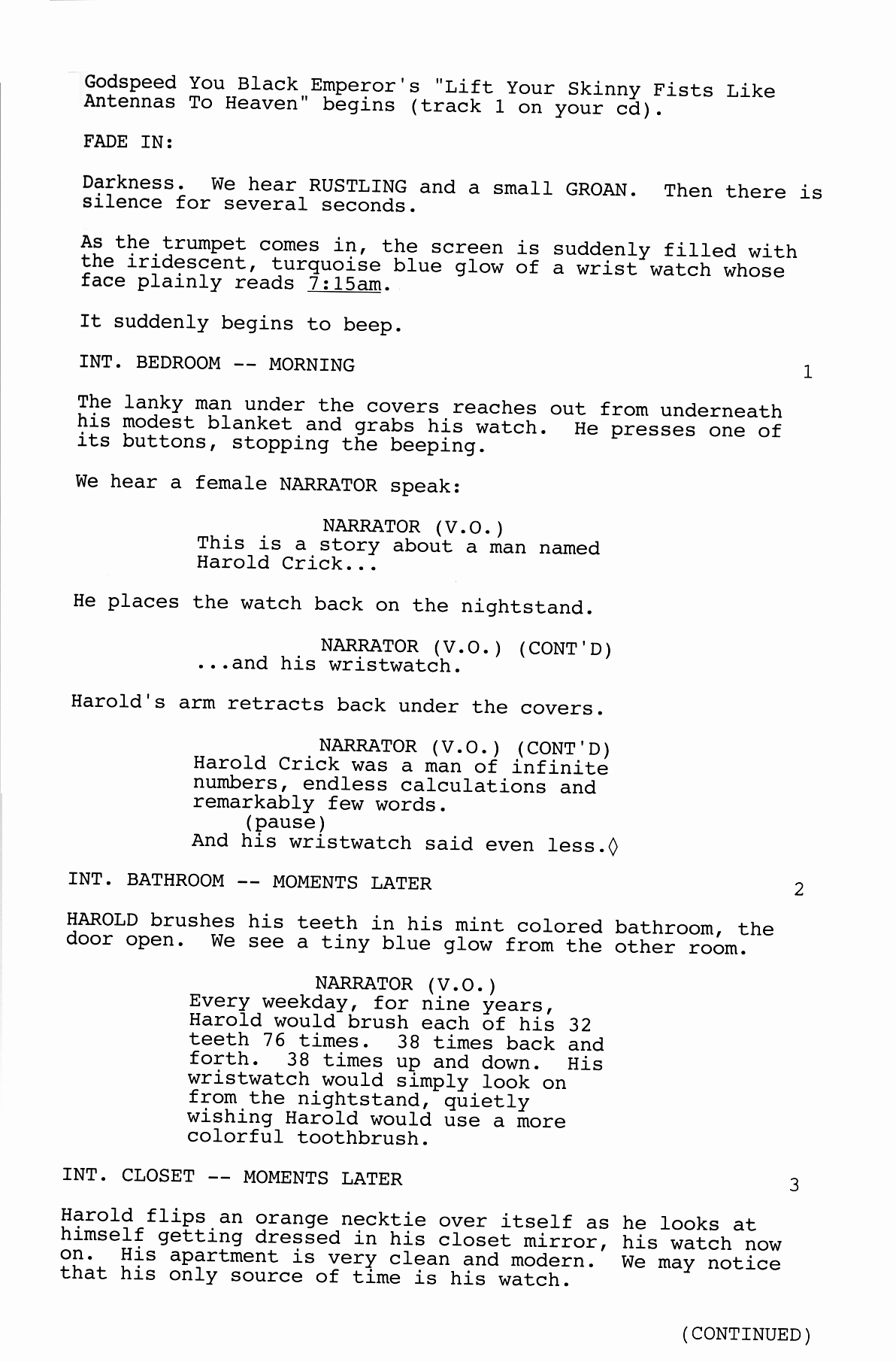 Short Film Script Template Awesome there Will Be Other Items In the Script but these are the