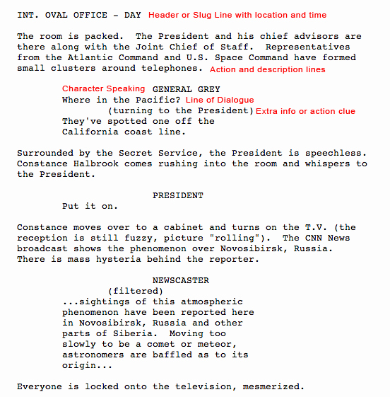 Short Film Script Template Beautiful Screenplay Screenplay format