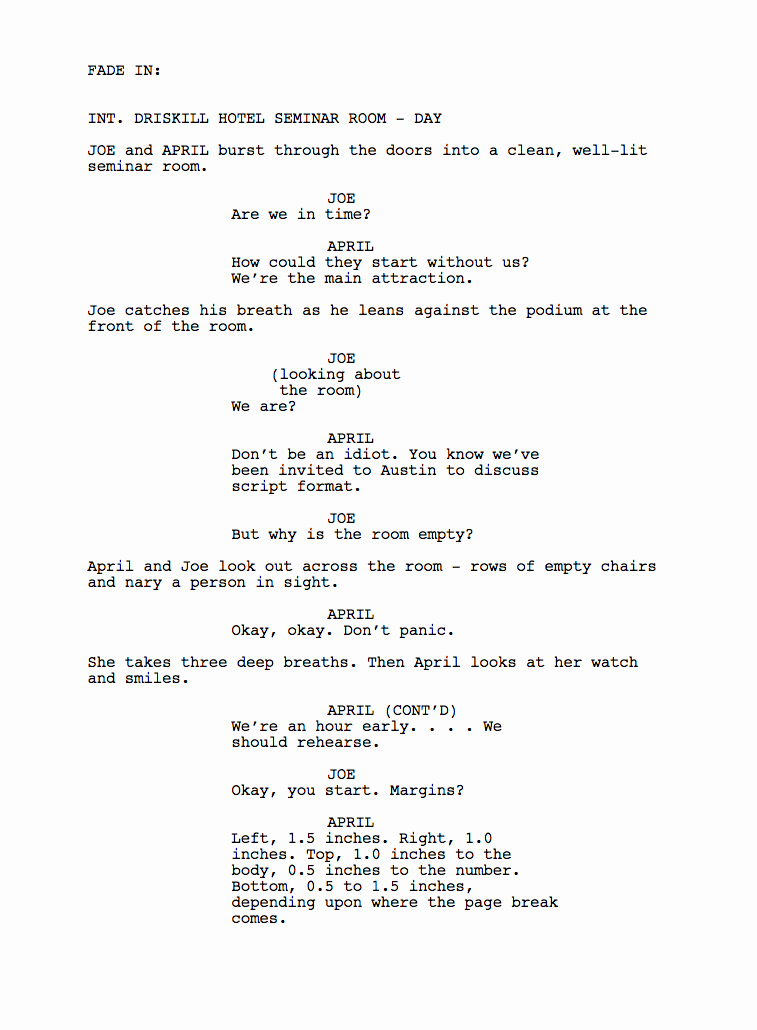 Short Film Script Template Best Of Unit 11 Scriptwriting for Media Products March 2015