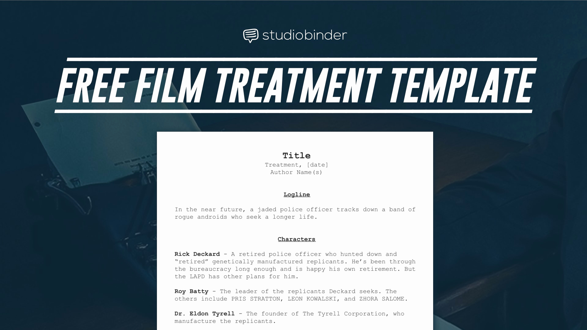 Short Film Script Template Fresh Download Your Free Treatment Template Right now