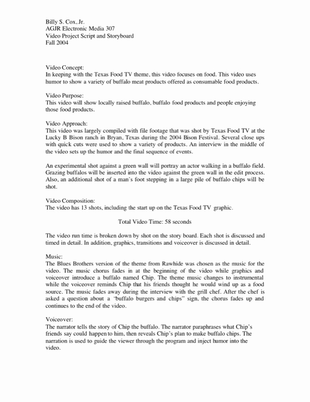Short Film Script Template New Download Short Script Writing Template Sample for