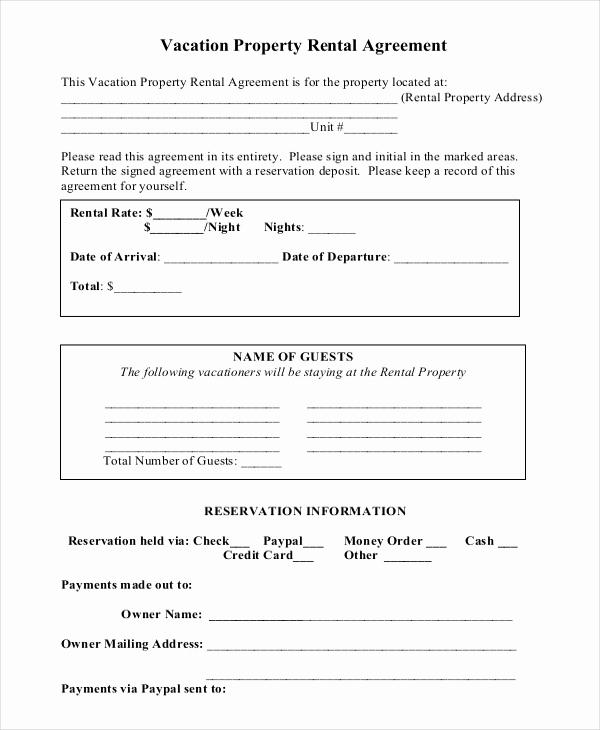 Short Term Rental Agreement Awesome 14 Short Term Rental Agreement Templates – Free Sample