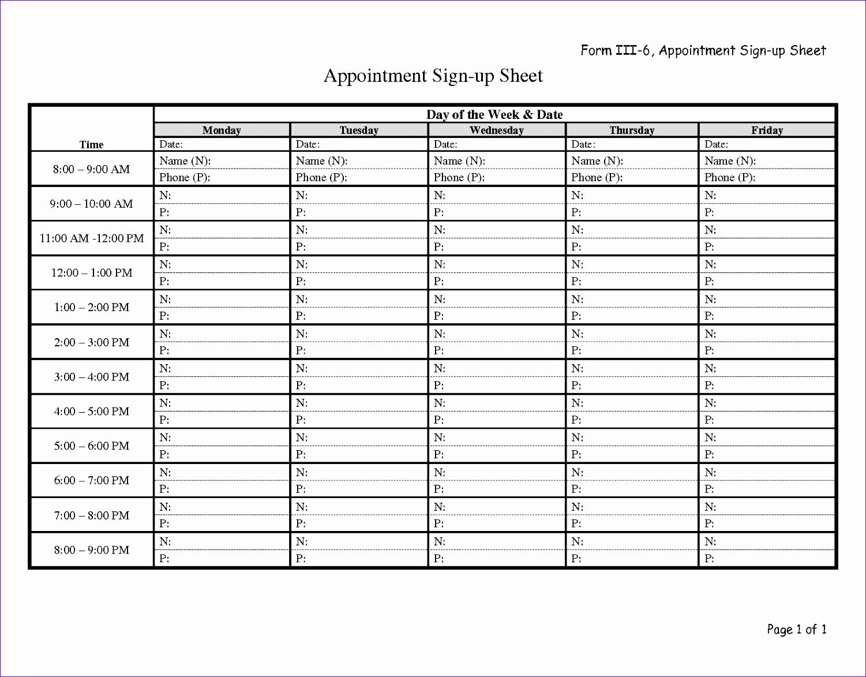 Sign Up Sheet Pdf Elegant 8 Potluck Sign Up Sheet Template Excel Exceltemplates