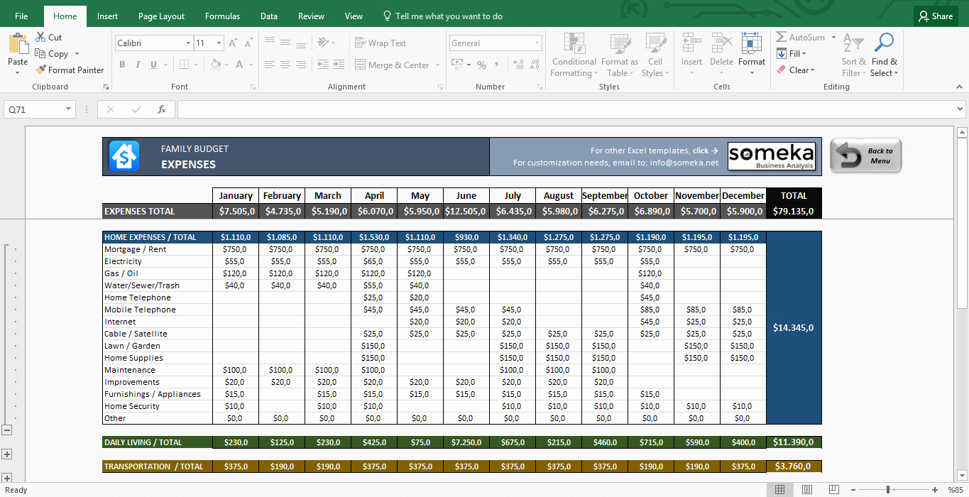 Simple Budget Template Excel Best Of Family Bud Template In Excel