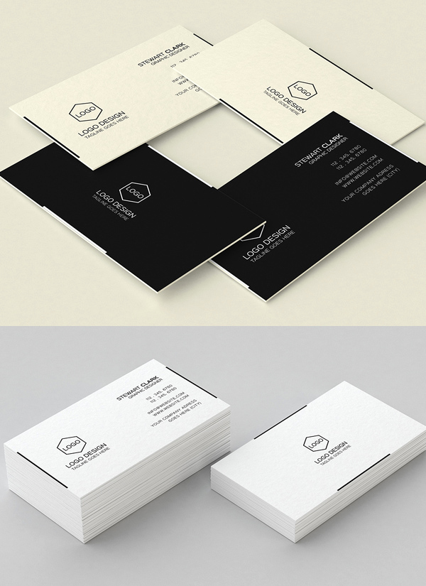 Simple Business Card Design Best Of 30 Minimalistic Business Card Designs Psd Templates