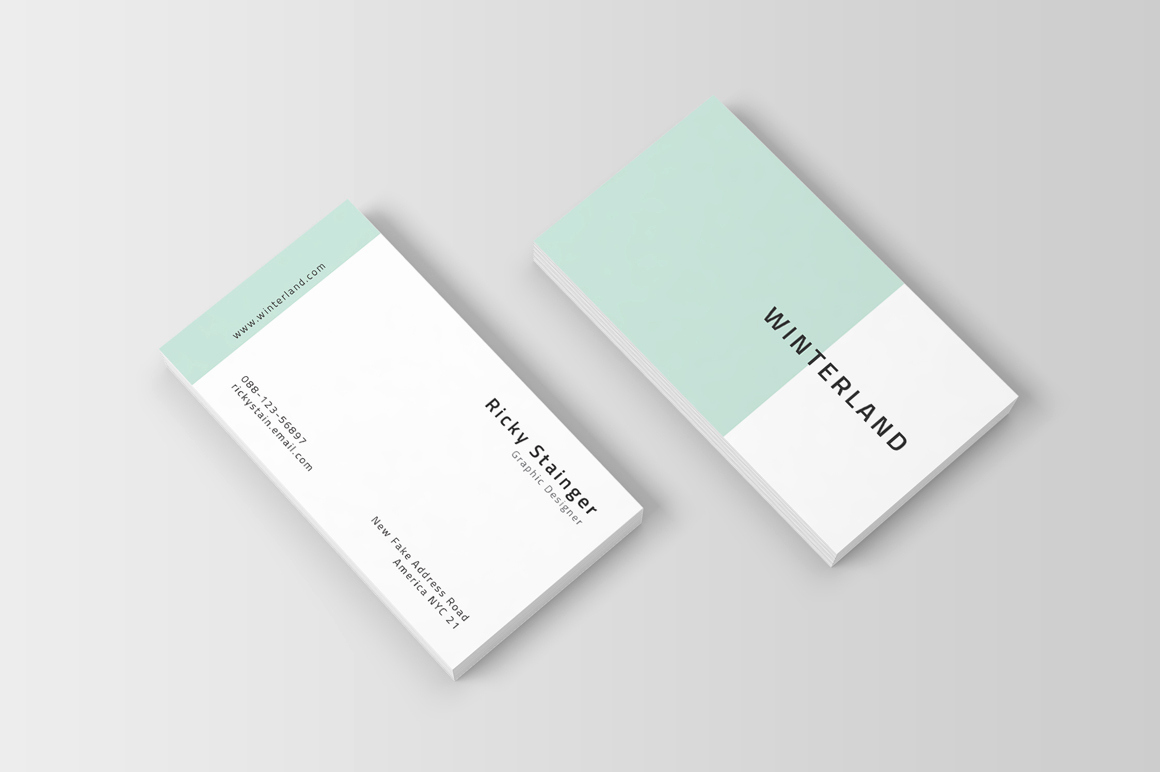 Simple Business Card Design Elegant Simple Business Card Template Inspiration Cardfaves