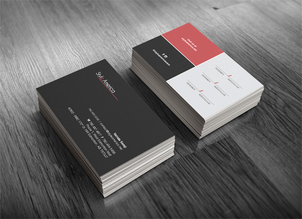 Simple Business Card Design Luxury 20 Minimalistic Business Card Designs for Your Inspiration