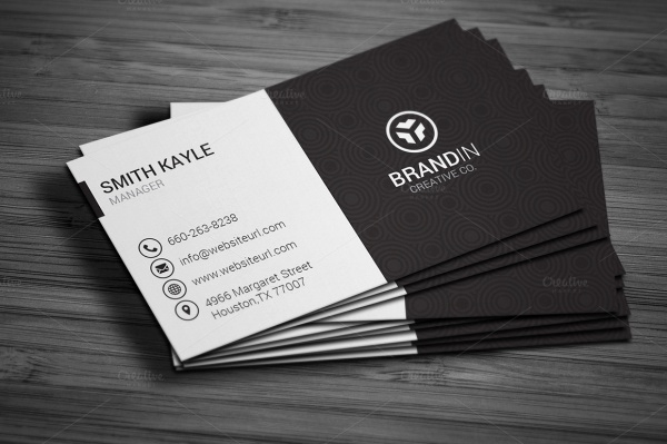 Simple Business Card Design Luxury 28 Creative & Modern Business Card Templates Word Psd