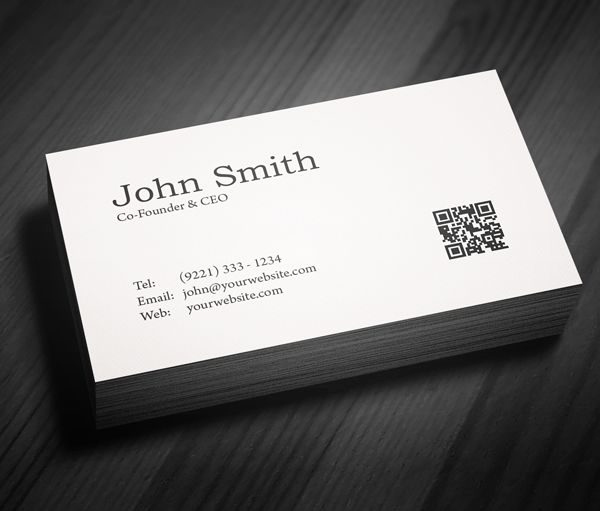 Simple Business Card Design New Simple Business Card Designs