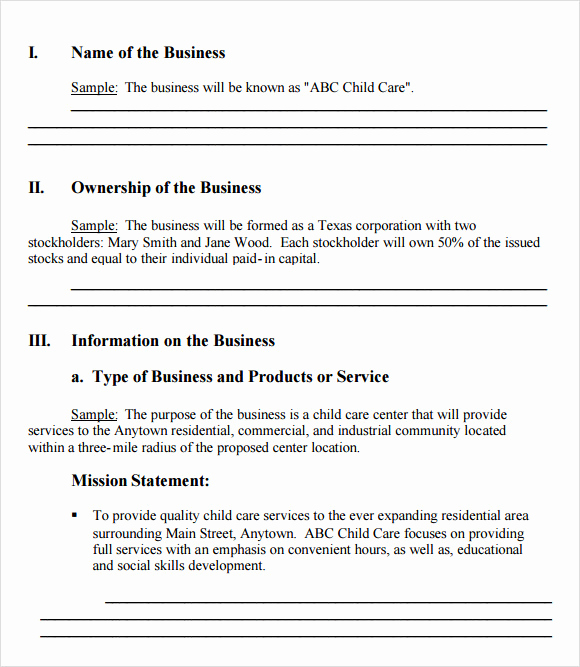 Simple Business Plan Example Awesome Simple Business Plan Template 21 Documents In Pdf Word