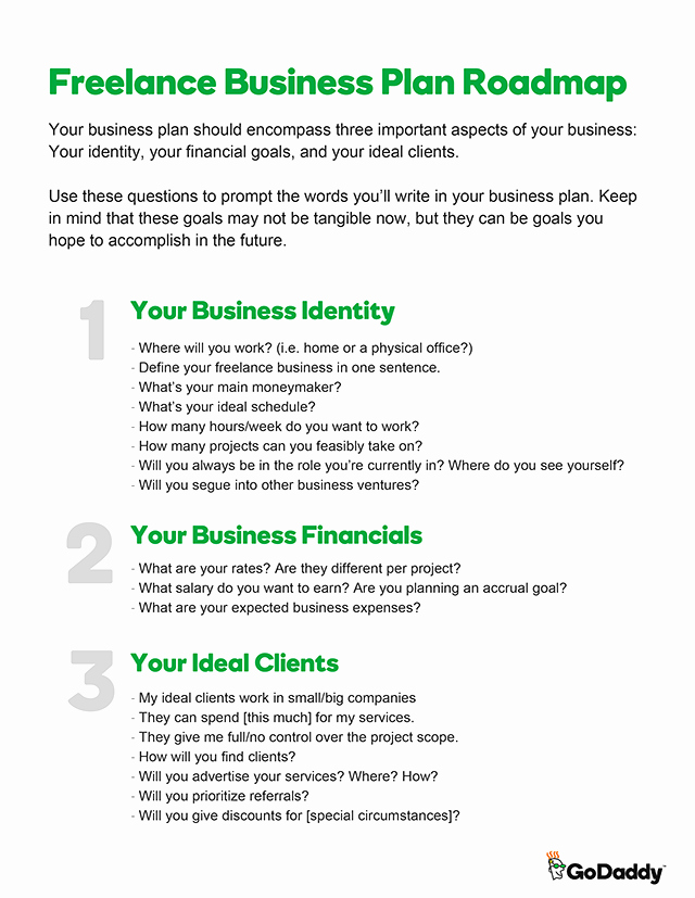 Simple Business Plan Example Fresh Start Your Freelancing with A Simple Business Plan the