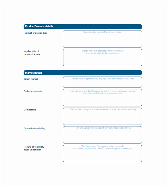 Simple Business Plan Example New Simple Business Plan Template 25 Free Sample Example