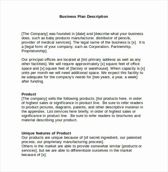 Simple Business Plan Template Word Beautiful Business Plan Template 47 Examples In Word