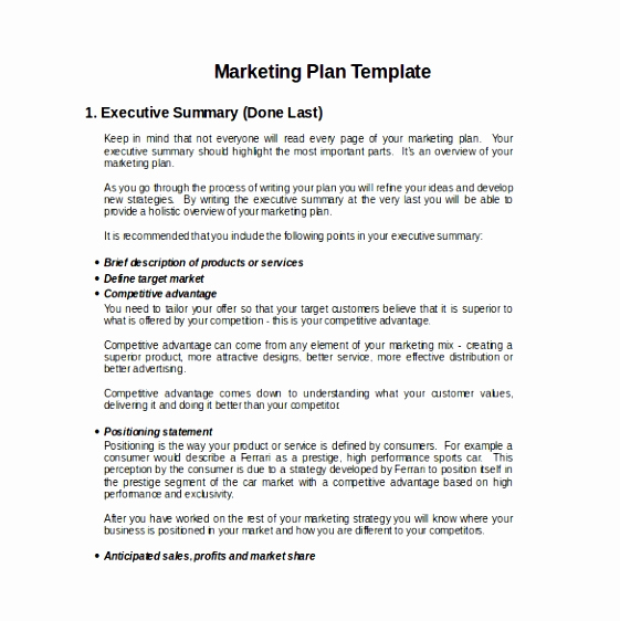 Simple Business Plan Template Word Unique 7 Short Business Plan Template Word Quorq