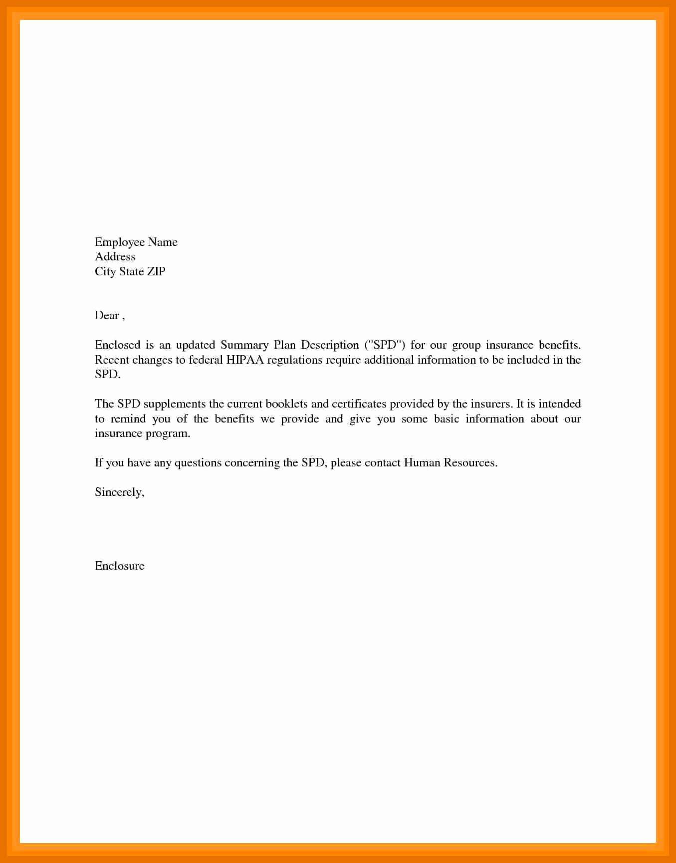 Simple Cover Letter Sample Fresh 2 3 Basic Cover Letter