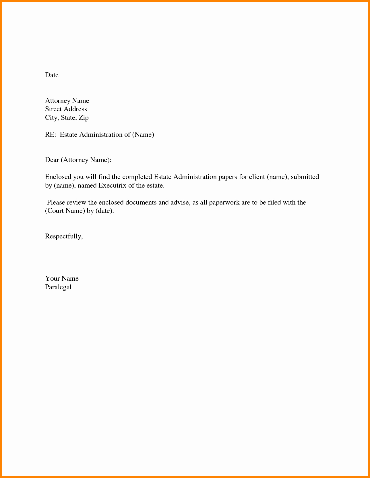 Simple Cover Letter Sample Lovely Quick Cover Letter Template
