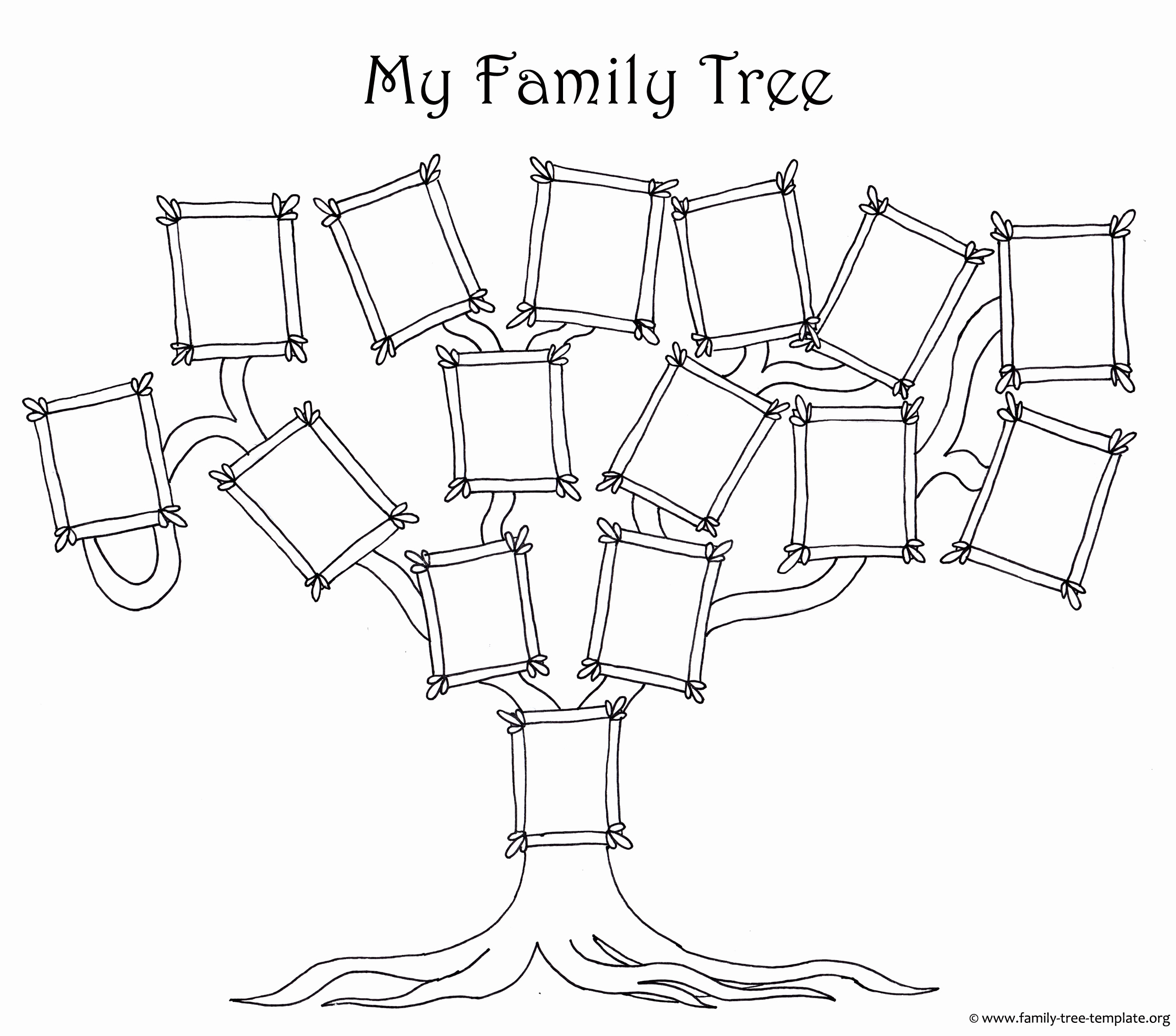 Simple Family Tree Template Luxury Free Family Tree Template Designs for Making Ancestry Charts