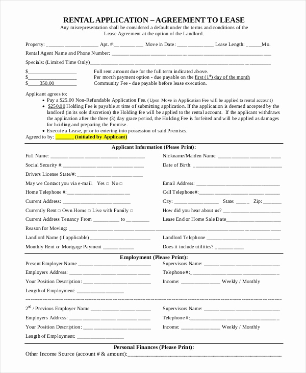 Simple Lease Agreement Pdf Best Of 44 Simple Rental Agreement Templates Pdf Word