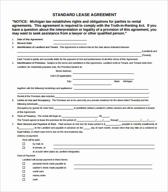 Simple Lease Agreement Pdf Elegant 6 Simple Lease Agreement Templates In Pdf to Download