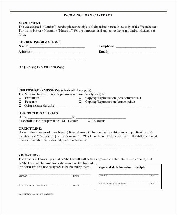 Simple Loan Agreement Pdf Best Of 35 Loan Agreement forms In Pdf