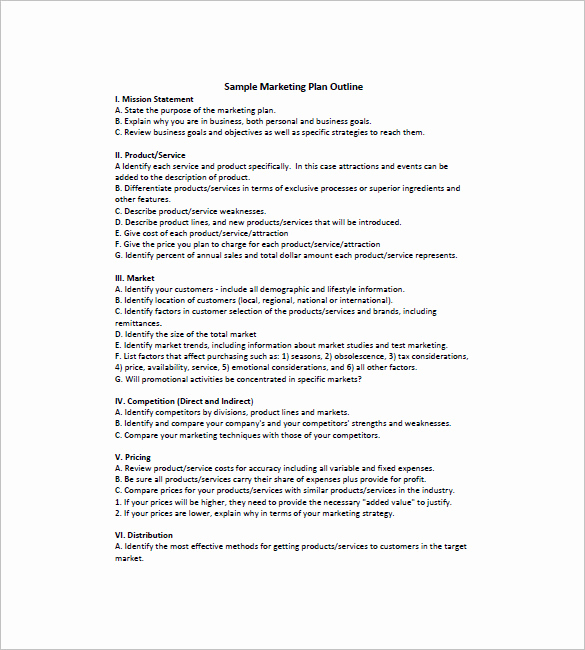 Simple Marketing Plan Template Awesome 19 Simple Marketing Plan Templates Doc Pdf