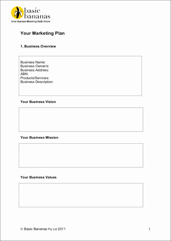 Simple Marketing Plan Template Beautiful Differences Marketing Strategy and Marketing Plan 9