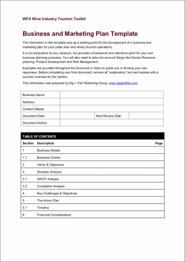 Simple Marketing Plan Template Elegant 24 Marketing Samples & Templates In Pdf Free Pdf format