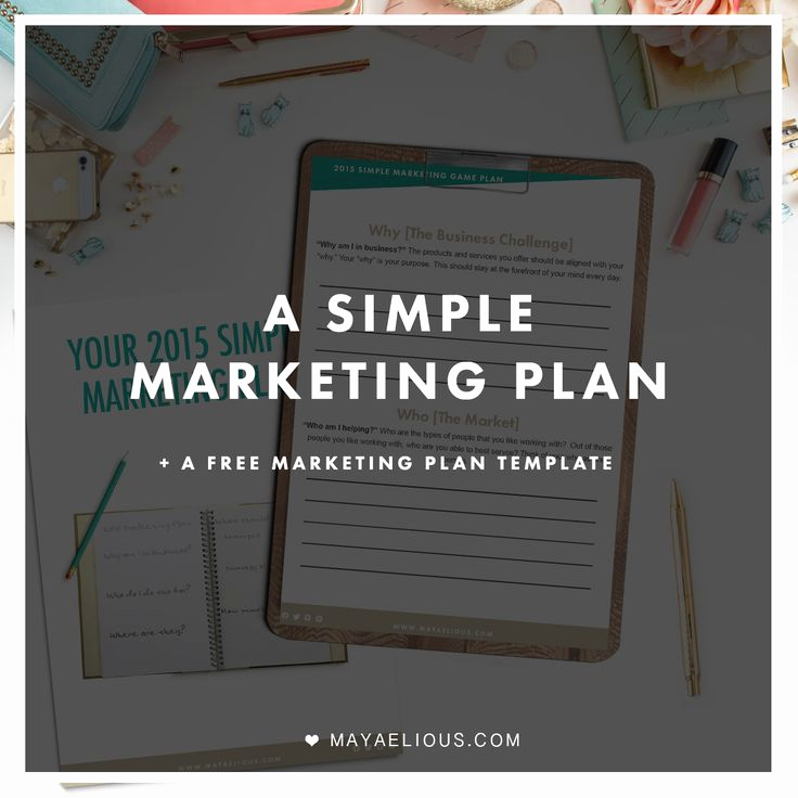 Simple Marketing Plan Template Elegant Free Project Planning Template Woodworking Projects & Plans