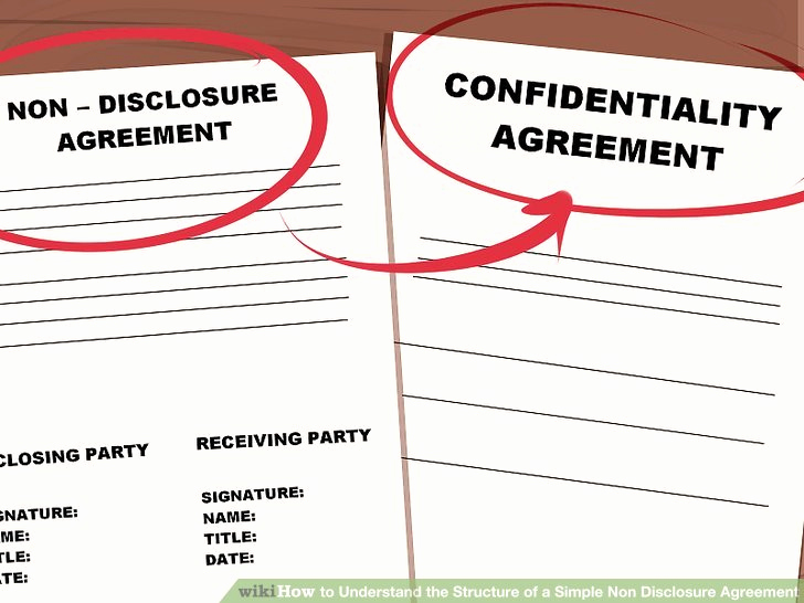 Simple Non Disclosure Agreement Lovely How to Understand the Structure Of A Simple Non Disclosure