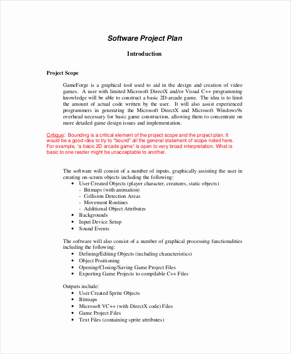 Simple Project Proposal Example Elegant 13 Simple Project Plan Templates Free Sample Example