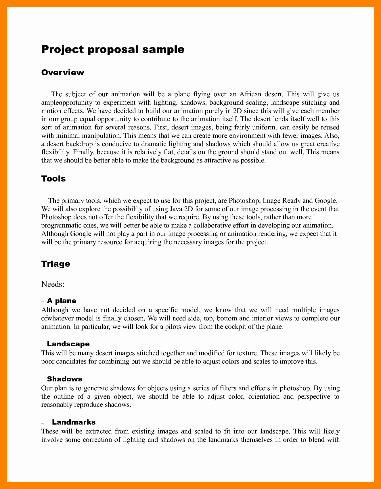Simple Project Proposal Example Inspirational 9 Multimedia Project Proposal Examples Pdf