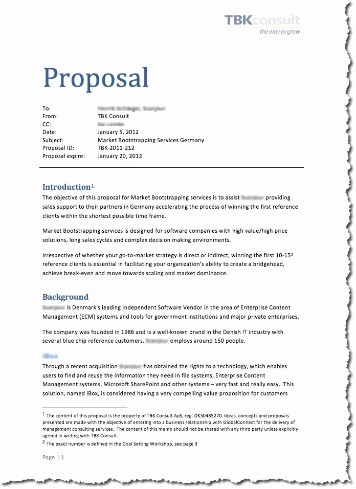Simple Project Proposal Example Inspirational Cae Proposal Ready for Cae