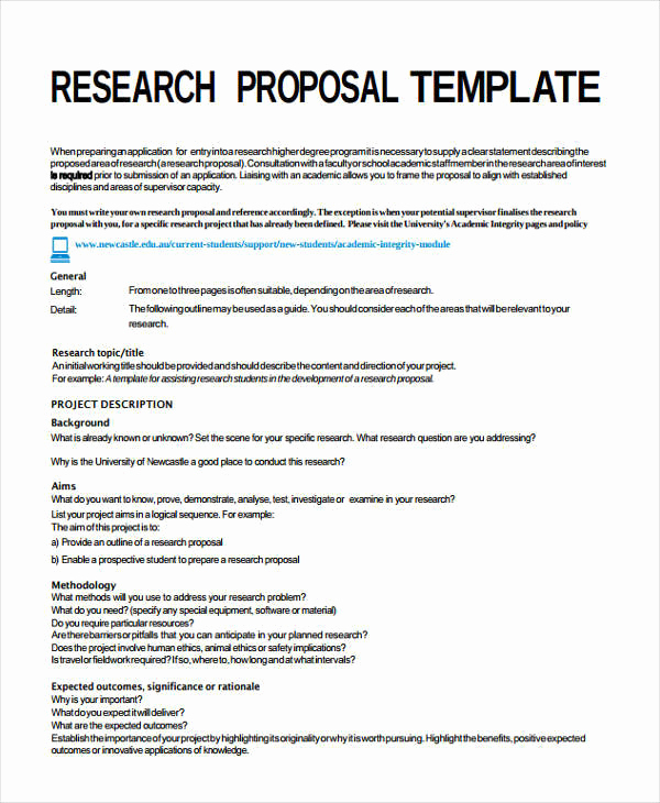 Simple Project Proposal Example Luxury 8 Project Proposal Templates Word Pdf