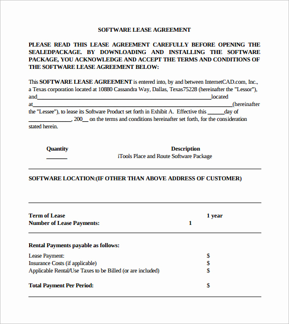 Simple Rental Agreement Pdf Best Of Simple Lease Agreement 8 Download Free Documents In Pdf