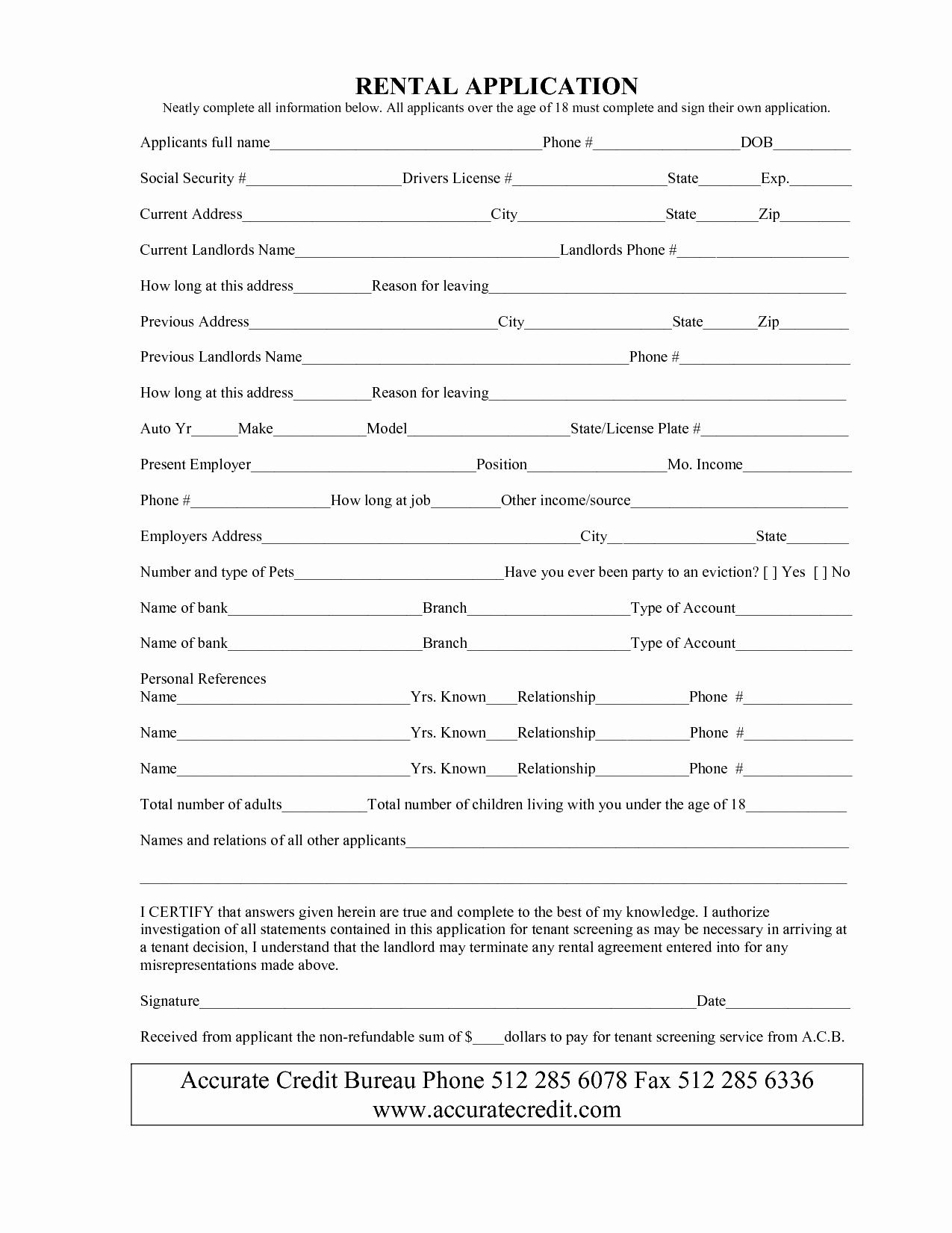 Simple Rental Agreement Pdf Elegant Simple Rental Agreement form