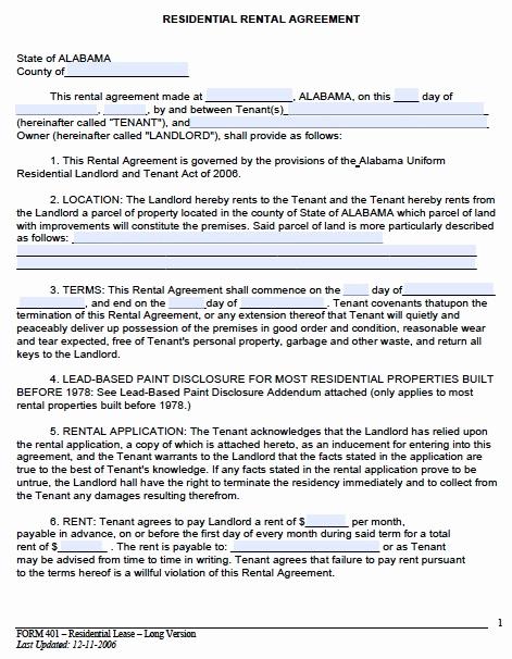 Simple Rental Agreement Pdf Unique 30 Basic Editable Rental Agreement form Templates Thogati
