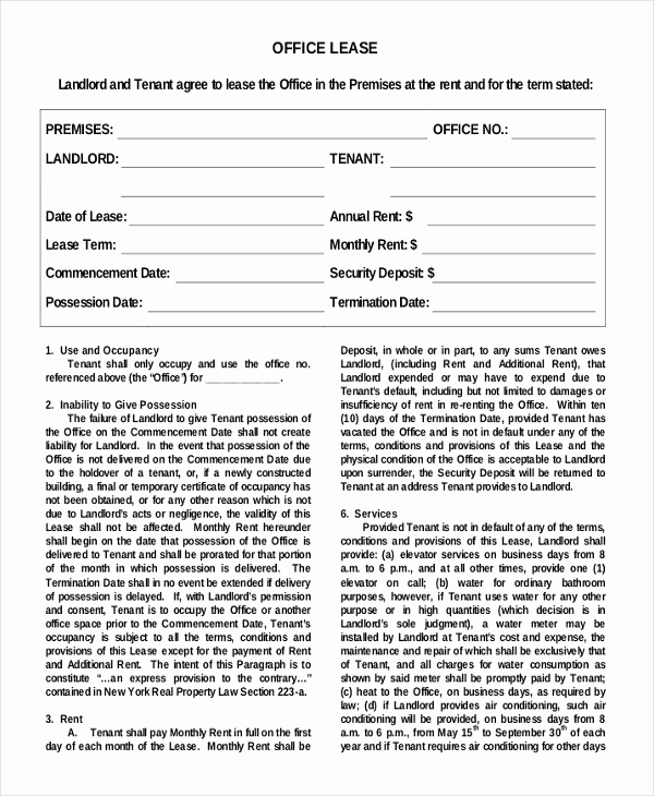 Simple Rental Agreement Pdf Unique 44 Simple Rental Agreement Templates Pdf Word