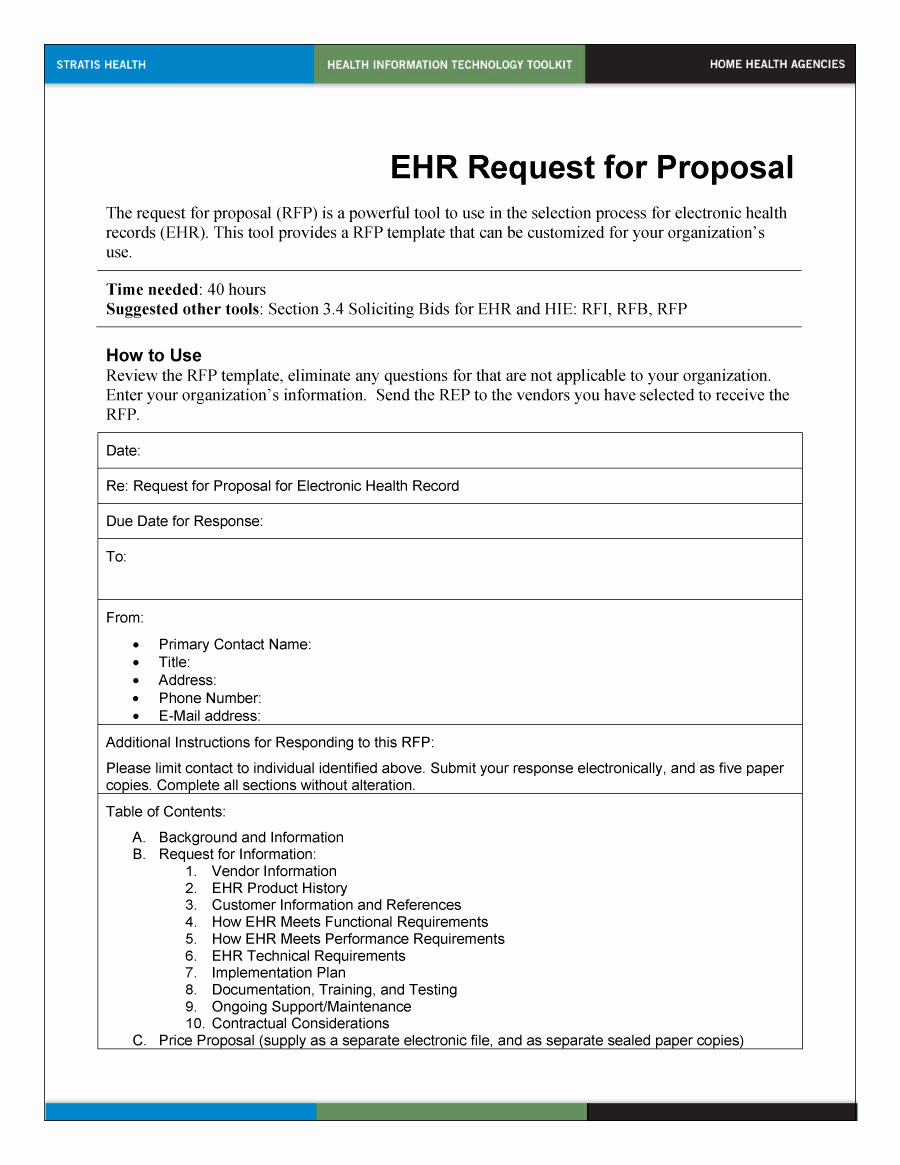 Simple Request for Proposal Example Luxury 40 Best Request for Proposal Templates & Examples Rpf
