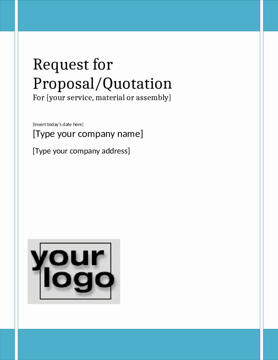 Simple Request for Proposal Example Luxury Request for Proposal Template Free Printable Request for