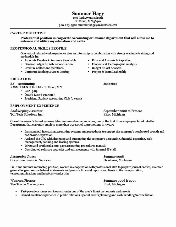 Simple Resume format Pdf Lovely 22 Best Basic Resume Images On Pinterest