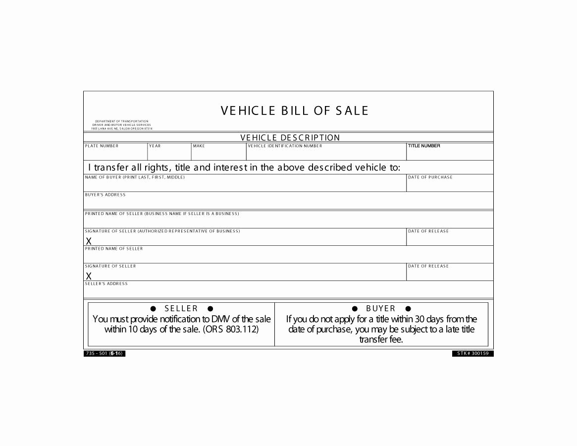 Simple Vehicle Bill Of Sale Awesome 45 Fee Printable Bill Of Sale Templates Car Boat Gun