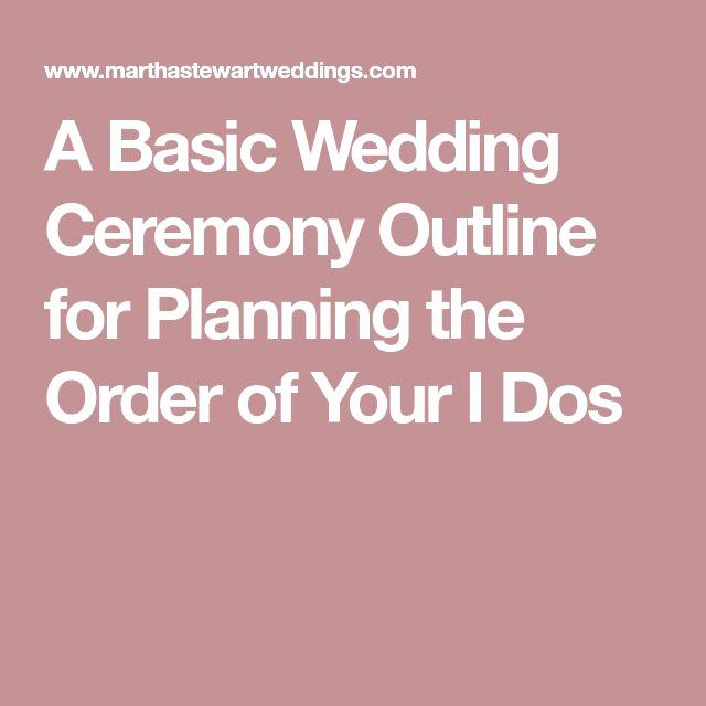 Simple Wedding Ceremony Outline Inspirational Best 25 Wedding Ceremony Outline Ideas On Pinterest