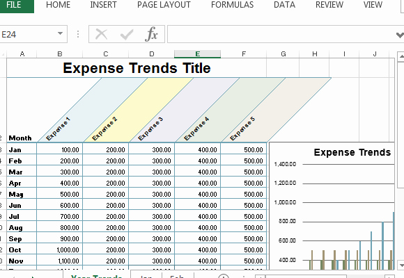 Small Business Budget Template Luxury Small Business Expense Sheet for Excel