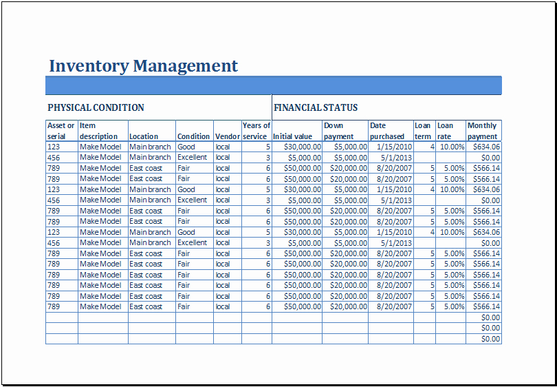 Small Business Inventory Spreadsheet Template Awesome Excel Business Inventory Management Template