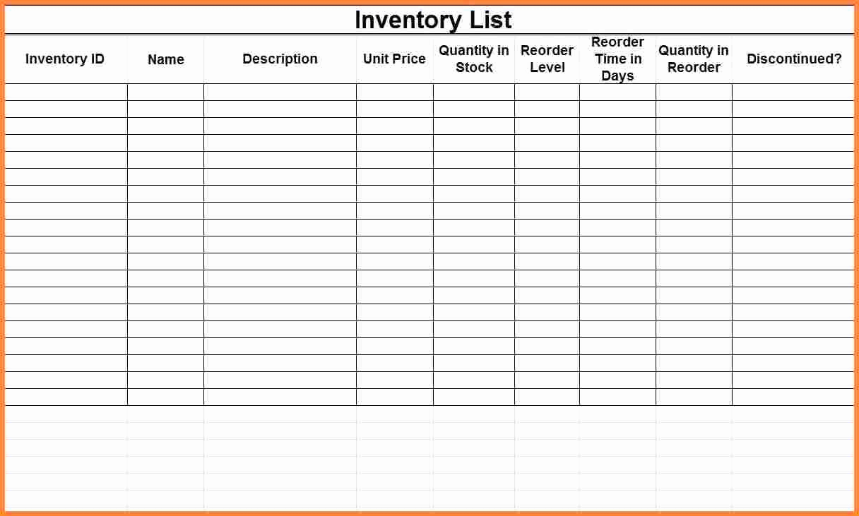 Small Business Inventory Spreadsheet Template Luxury Easy to Use Inventory Tracking Templates for Your Business