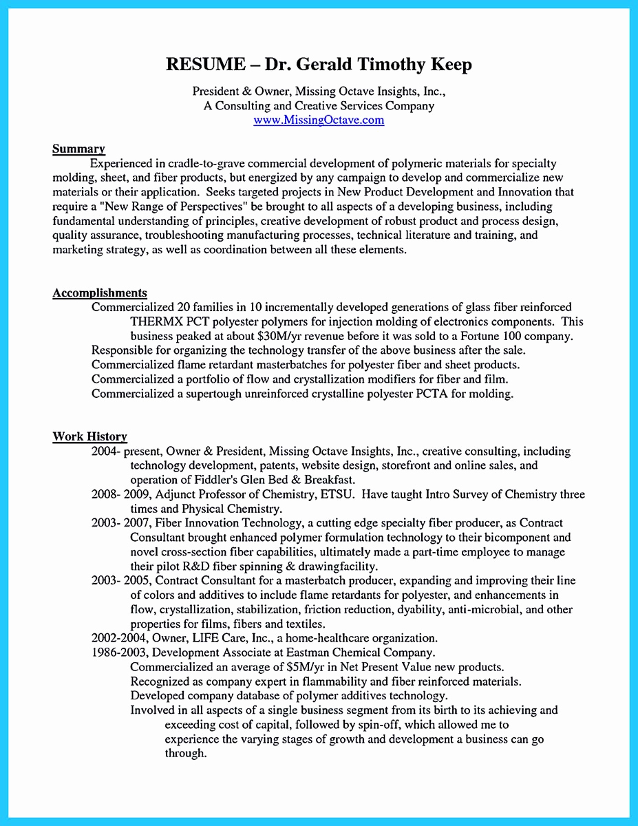 Small Business Owner Resume Lovely Outstanding Keys to Make Most attractive Business Owner Resume