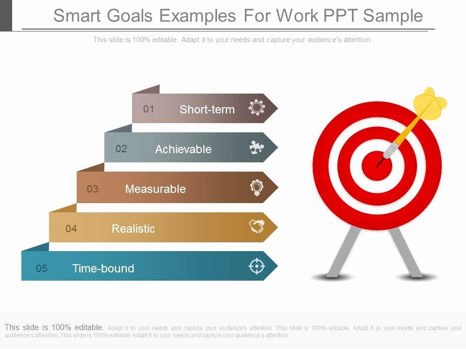 Smart Goals Examples for Work Unique App Smart Goals Examples for Work Ppt Sample